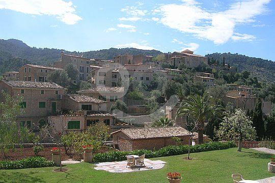 terrazas de Valldemossa en el tour