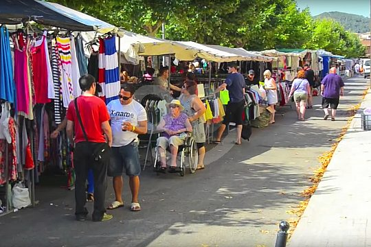 visitar el mercado de Andratx