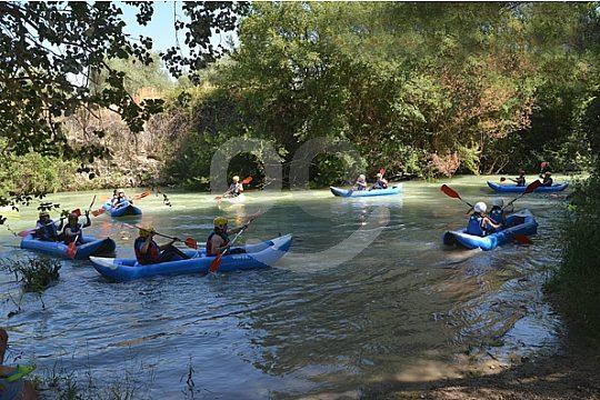 el mejor tour en kayak aguas bravas de Andalucia