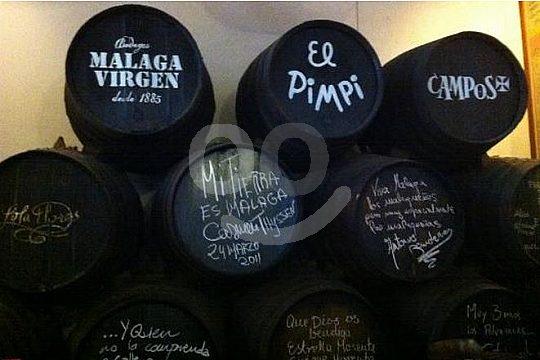 Malaga vino