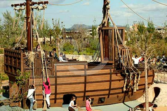 parque infantil en Palma Aquarium