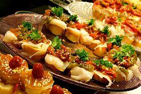 Tapas essen in Cadiz
