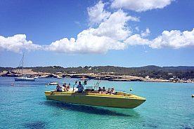 Boot chartern auf Ibiza