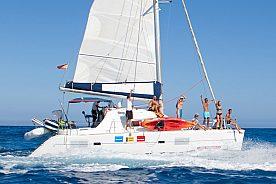 Salida exclusiva en catamarán a precio especial en el norte de Fuerteventura