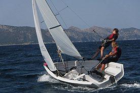 Curso de iniciación a la vela ligera en Mallorca: Aprenda a navegar en Pollenca