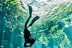 Schnorcheln abtauchen Menorca