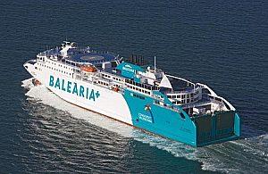 Ferry de Barcelona a Ibiza, Ida y Vuelta