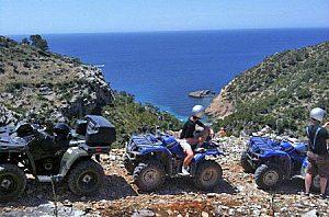 Excursión en Quad y sightseeing desde Andratx el suroeste de Mallorca
