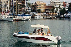 Bootstour für bis zu 8 Personen ab Torrevieja