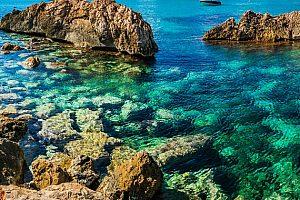 Desde Paguera y Santa Ponsa: excursiones en barco a las cuevas de Mallorca
