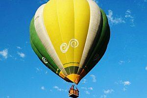Ballonflug über Barcelona