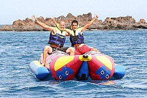 Bananaboot im Süden Lanzarotes
