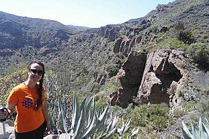wandern in der caldera