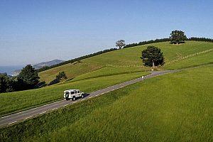 Paseo en Land Rover por el País Vasco a Peñas de Aya y San Juan de Luz - desde San Sebastián