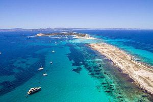 flexible Bootstour nach Formentera ab Ibiza