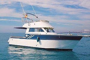 Tour en barco con patrón a Tabarca en la Costa Blanca - Charter desde Torrevieja