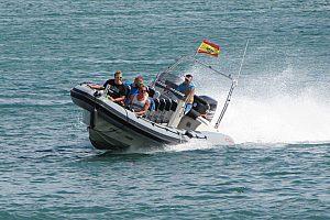 Espectacular excursión en Speed Boat / Lancha rápida en la costa sureste de Mallorca