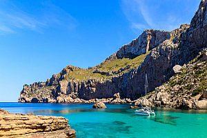 Excursión en barco a Cap Formentor o Playa Formentor en el norte de Mallorca