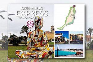 Viaje en autobús desde Caleta de Fuste a Corralejo y El Cotillo