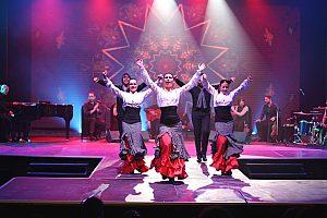 Espectáculo musical en Es Foguero, cerca de Palma de Mallorca