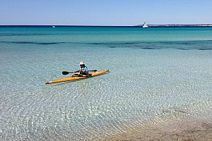 Kayak tour en Mallorca y alquiler de kayaks en Colonia Sant Jordi