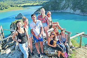 Tour privado en Cádiz: Kayak, turismo y tirolina en Andalucía