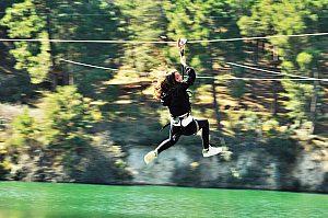 Tirolinas Madrid: parque de aventura y cuerdas altas en Guadarrama