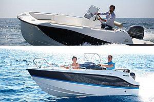 in Can Picafort Boot ohne Führerschein mieten