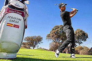 Todo el dia con jugando con Golf-Pro Sebastian Garcia, max. 3 personas