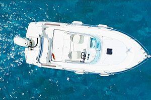 Motorboot vom Bootsverleih Can Picafort