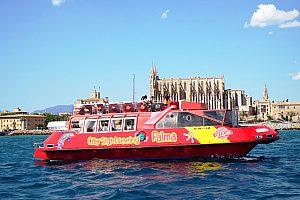 Excursión en barco en Palma de Mallorca: Recorrido por el puerto y por la bahía de Palma