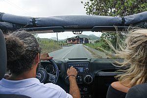 Jeep fahren auf Ibiza