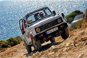 4x4 Jeep Beach Safari Mallorca en el sureste, desde el Arenal