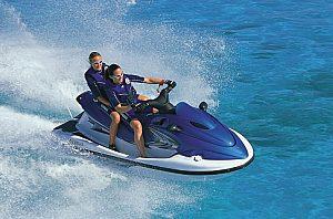 Safari en jet ski sin licencia en Fornells en el norte de Menorca