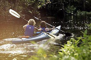 Kajak Touren in Galicien - wilde Flussabenteuer auf der Ulla ab Padrón