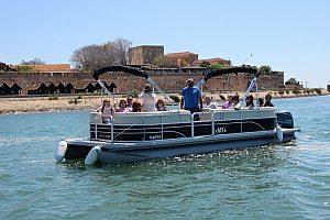 Excursión en barco en el Algarve: Descubra Ría Formosa, la Isla Desierta y Farol