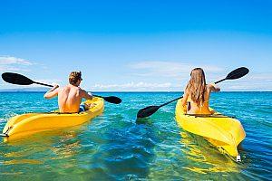Alquiler de kayak en el sur de Mallorca - excursiones individuales desde Can Pastilla