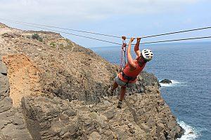 Multiactividad en Gran Canaria: trekking, escalada y toboganes de cuerda en la costa norte