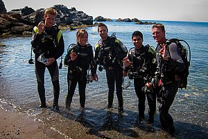 Open Water Diver Tauchkurs Mar Menor