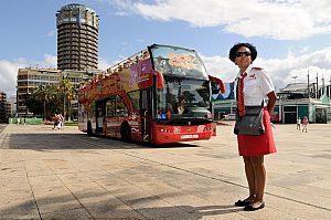 City Sightseeing, con el bus turístico por las Palmas de Gran Canaria