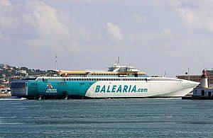 Ferry de Mallorca a Denia, Ida y Vuelta