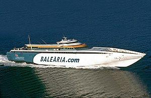 Ferry de Mallorca a Ibiza, Ida y Vuelta