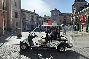 Divertido tour por Madrid a bordo de un Buggy
