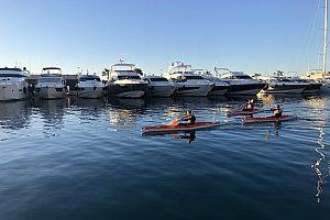 kayak puerto portals - blick auf den hafen