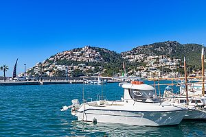 Küste Cala Deia Mallorca