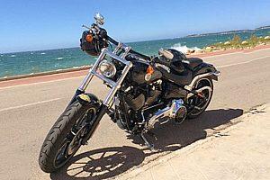 Mit der Harley in Mallorca touren