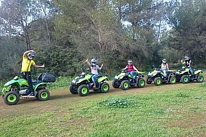 mallorca arenal off-road quad tour