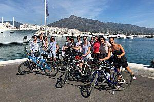 Fahrradtour in Marbella: Küste, Altstadt, Hafen