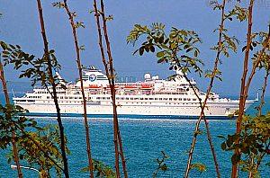 """1 noche desde Palma a Barcelona a bordo del """"MS Delphin"""" incluyendo la navegación marítima y cena"""