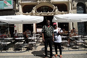 Porto Stadtführung Café Majestic